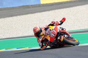 PIC: Marquez magic save, 'different strategies for opponents'