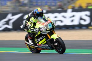 Moto2 Le Mans: Navarro takes back-to-back poles despite fall