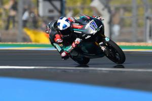 Moto3 Le Mans: McPhee on fire for French pole