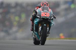Quartararo memimpin Marquez dalam pemanasan
