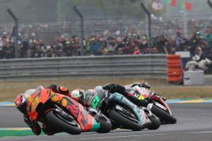 Espargaro 'proud of where we are' - KTM closest yet