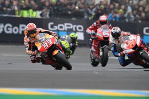 'More engine, less risk' - 'Different' Marquez wins Le Mans