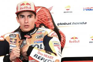Marquez 'sick, reactions slower'