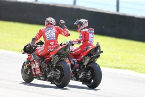 Dovi, Petrucci out to finish on a high, teams' title decider