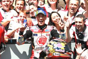 Nakagami hails maiden top five, best Japanese result since 2012