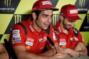Petrucci clarifies Dovi 'help' comment, will fight for wins