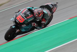 Quartararo upstages rivals to set Catalunya MotoGP practice pace