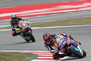 Moto2 Catalunya: Fast Fernandez claims maiden pole position