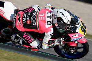 Moto3 Austria: Fenati on fire for pole position