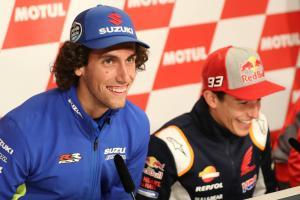Rins: Assen will suit Suzuki and Yamaha
