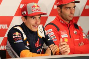 Marquez to continue with test parts, won't try Lorenzo fairing