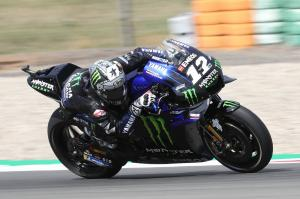 Vinales leads Quartararo in hotter conditions at Assen