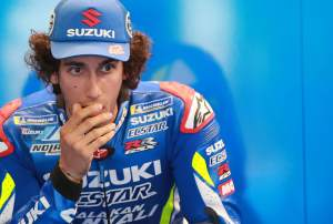 Rins 'a few kph faster, then…'