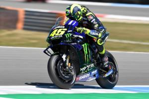 Rossi 'not fantastic, gap to the fastest'