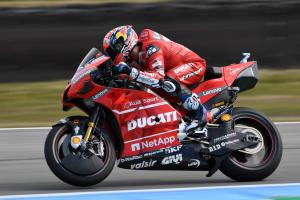 Dovizioso denies Marquez in final moments of Austria FP1