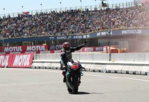 Pole-sitter Quartararo uncertain over race tyre pick