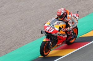 Marquez returns to the top at Sachsenring