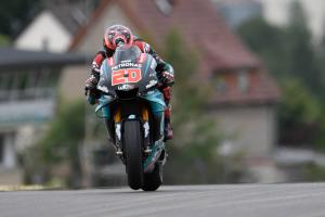 Quartararo: Arm feels good, we didn't get to push on softs