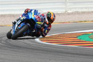 Rins surprised by key tyre combination at Sachsenring