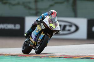 Di Meglio storms to wet Austria MotoE win