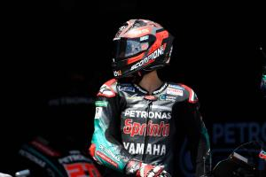 Quartararo heals, 'feels good' for Brno