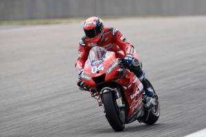 Dovizioso edges Marquez in FP1 as MotoGP summer break ends
