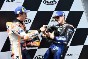 "Vinales takes ""maximum"" second with Marquez ""impossible"" to catch"
