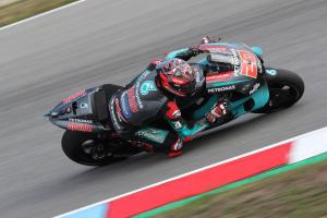 Quartararo pushes Marquez off top spot