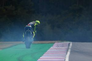 Rossi: Clutch grab prevented oil dump