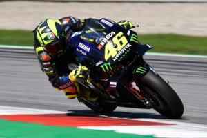 Rossi, Vinales try carbon fibre swingarm, 2020 engine