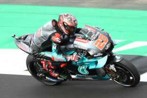UPDATED: Quartararo quickest after lap times returned