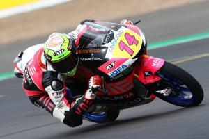 Moto3 Silverstone: Arbolino maintains control with record pole