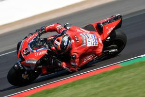 "Petrucci's ""good feeling"" returned at Misano test"