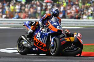 Oliveira: A bike came out of nowhere…