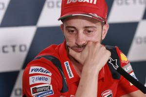 Dovizioso explains Silverstone crash memory loss