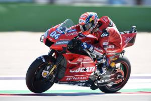 Dovizioso: Ducati strong points neutralised at slippery Misano