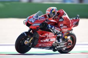 Dovizioso: Ducati strong points neutralised at slippery Misano