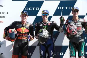 Espargaro: I had a hand from Vinales, Quartararo