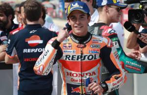 "Marquez ""managing pressure"" to avoid Austin repeat"