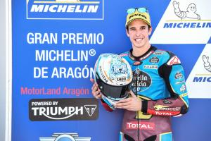Moto2 Aragon: Record pace elevates Marquez to pole