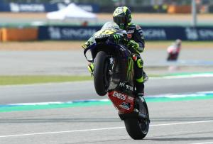 Rossi: We are competitive but tyre wear a worry