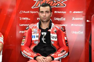 Petrucci fastest in wet FP3 at Motegi
