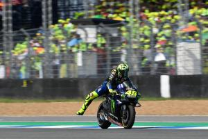 Rossi: Obviously, we are not happy