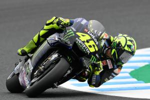 Rossi 'expected more in Q2, we're all close'