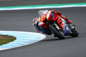 Miller 'in a great position for the race'