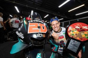 Quartararo secures 'really tough' MotoGP top rookie title