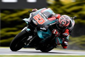 Quartararo: 'Everything hurts, but I'm lucky'