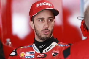 Dovizioso: Most riders would have to take risk without control