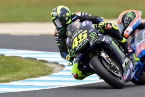 MotoGP Australia - Balapan seperti yang terjadi