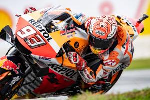 Marquez: Scooter-style brake 'not an advantage'